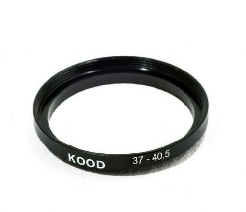 Kood Stepping Ring 37mm - 40.5mm Step Up Ring 37-40.5mm 37mm to 40.5mm Ring